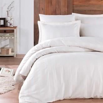 Комплект постельного белья Hobby Home Collection VALERIAN сатин-жаккард (светло-бежевый)
