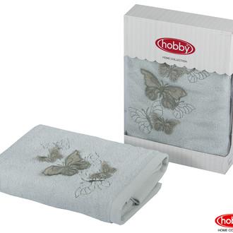 Полотенце для ванной в подарочной упаковке Hobby Home Collection GULNIHAL-BAHAR бамбуково-хлопковая махра минт