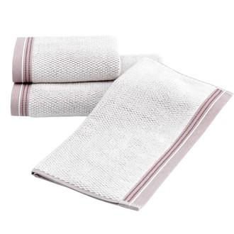 Набор полотенец для ванной 2 пр. Soft Cotton TERRA хлопковая махра (кофейный)