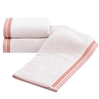 Набор полотенец для ванной 2 пр. Soft Cotton TERRA хлопковая махра (оранжевый)