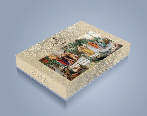 Постельное белье Cristelle VENICE 27 сатин-жаккард семейный, фото, фотография