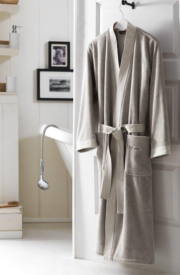 Халат мужской Soft Cotton LINEN хлопковая махра S, фото, фотография