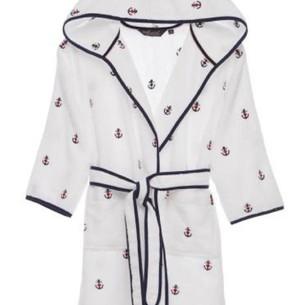 Детский халат Soft Cotton MARINE хлопковая махра белый 8 лет