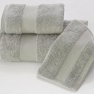 Набор полотенец для ванной в подарочной упаковке 32х50 3 шт. Soft Cotton DELUXE хлопковая махра серый