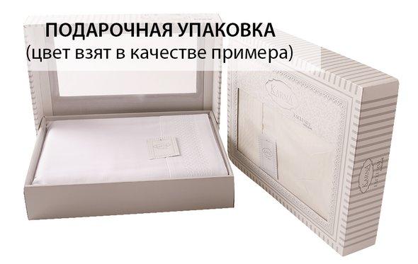 Скатерть прямоугольная Karna HONEY жаккард кремовый 160*300, фото, фотография