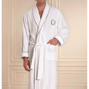 Халат мужской Soft Cotton SEHZADE хлопковая махра белый XL