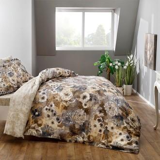 Комплект постельного белья TAC PREMIUM DIGITAL AVALON хлопковый сатин deluxe (коричневый)