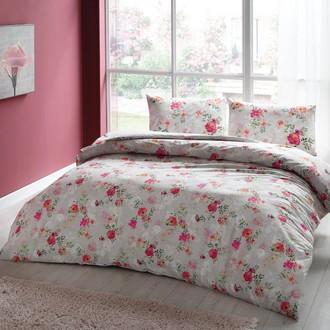 Комплект постельного белья TAC HAPPY DAYS CARMELA хлопковый ранфорс (кремовый)