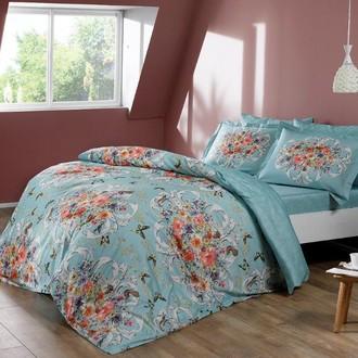 Комплект постельного белья TAC PREMIUM DIGITAL ALANIS хлопковый сатин deluxe
