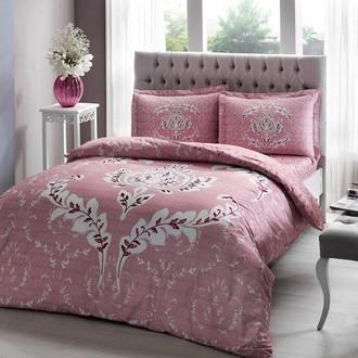 Комплект постельного белья TAC HAPPY DAYS ROMY хлопковый сатин (розовый)