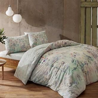 Комплект постельного белья TAC INOVA ION THERAPY RENATA сатин deluxe (зелёный)