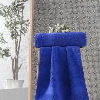 Полотенце для ванной Karna MELTEM хлопковая махра (парламент)