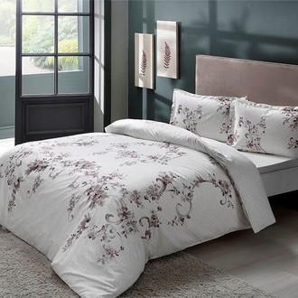 Комплект постельного белья TAC HAPPY DAYS LIARA хлопковый сатин (серый)