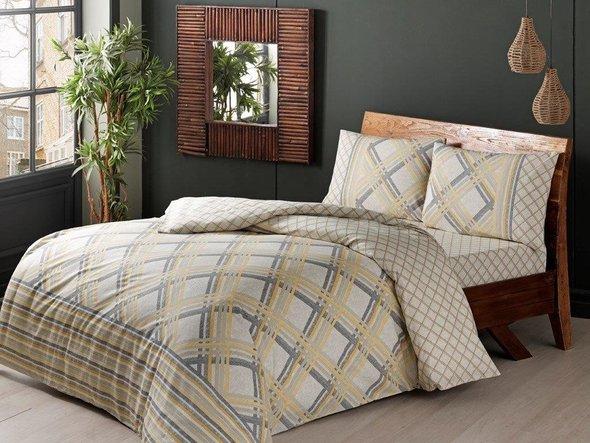 Комплект постельного белья TAC INOVA ION THERAPY KENLEY сатин deluxe евро, фото, фотография