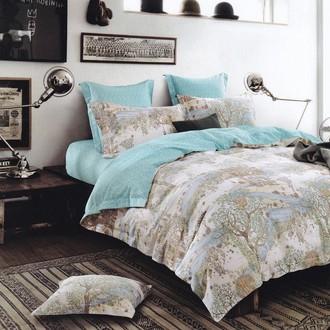 Комплект постельного белья Karna DELUX FERA хлопковый сатин