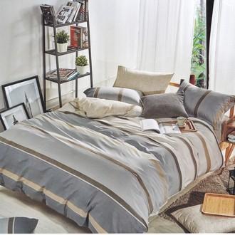 Комплект постельного белья Karna DELUX FLOKSY хлопковый сатин