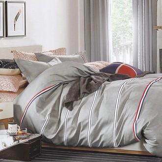 Комплект постельного белья Karna DELUX ROKSTON хлопковый сатин
