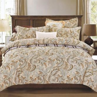 Комплект постельного белья Karna DELUX VIAN хлопковый сатин