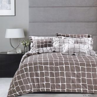 Комплект постельного белья Karna DELUX PAULA хлопковый сатин