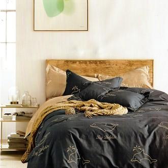 Комплект постельного белья Karna DELUX GANN хлопковый сатин