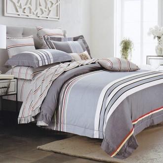 Комплект постельного белья Karna DELUX HOPSY хлопковый сатин