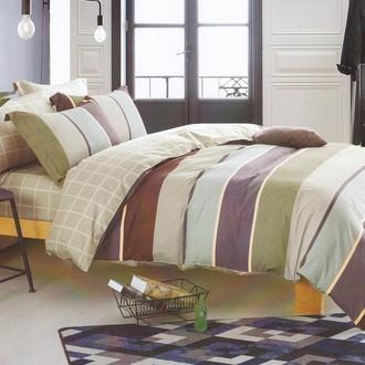 Комплект постельного белья Karna DELUX ROKSEN хлопковый сатин