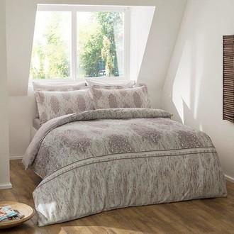 Комплект постельного белья TAC PREMIUM DIGITAL ELISE хлопковый сатин deluxe (серый)