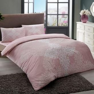 Постельное белье TAC HAPPY DAYS JANNA хлопковый ранфорс (розовый)