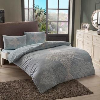 Комплект постельного белья TAC HAPPY DAYS JANNA хлопковый ранфорс (голубой)