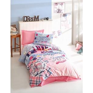Детское постельное белье Cotton Box GIRLS & BOYS SUPERSTAR хлопковый ранфорс розовый 1,5 спальный