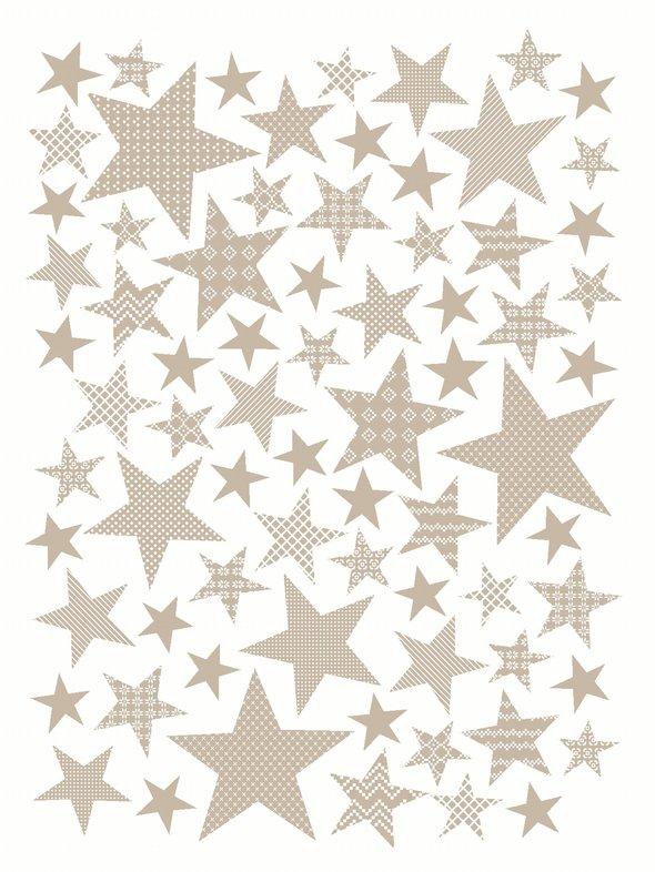 Плед-покрывало Karna STARS хлопок/акрил бежевый 180*240, фото, фотография