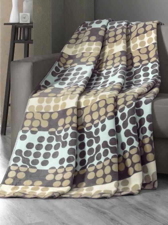 Плед-покрывало Karna NOKTA хлопок/акрил 180*240, фото, фотография