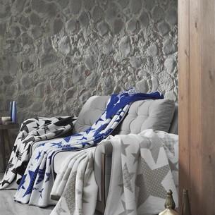 Плед-покрывало Karna STARS хлопок/акрил бежевый 130х170
