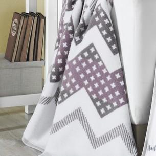 Плед-покрывало Karna DIAMOND хлопок/акрил 220х240