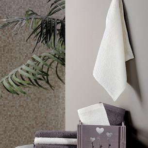 Подарочный набор полотенец-салфеток 30х30 6 шт. FLORI хлопковая махра коричневый