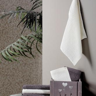 Подарочный набор полотенец-салфеток 30*30(6) FLORI хлопковая махра (коричневый)