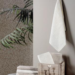Подарочный набор полотенец-салфеток 30х30 6 шт. FLORI хлопковая махра светло-кофейный