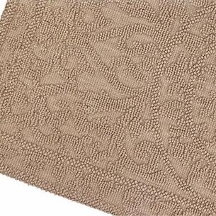 Набор ковриков 2 пр. Gelin Home SONIL хлопковая махра тёмно-коричневый 45х60, 60х100