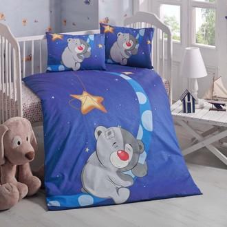 Комплект детского постельного белья в кроватку Victoria BABY KEYIF хлопковый ранфорс