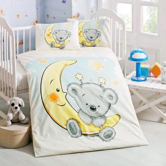 Комплект детского постельного белья в кроватку Victoria BABY PITIRCIK хлопковый ранфорс