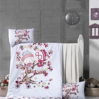 Комплект детского постельного белья в кроватку Victoria BABY PLAY TIME хлопковый ранфорс