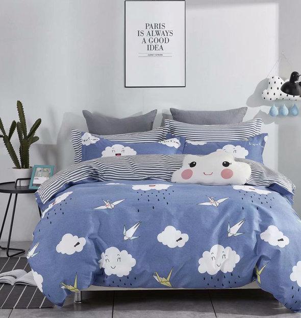 Комплект постельного белья Tango TPIG-535 хлопковый сатин 1,5 спальный, фото, фотография