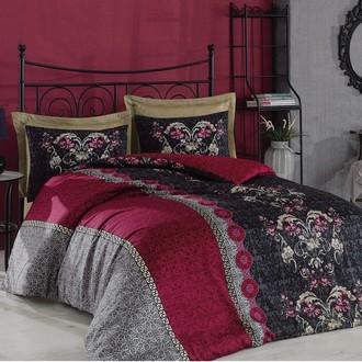 Комплект постельного белья Cotton Box SATEN CASSANDRA хлопковый сатин (фиолетовый)