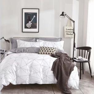 Постельное белье Tango TPIG-527 хлопковый сатин 2-х спальный (нав. 70х70)
