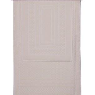 Набор ковриков для ванной 3 пр. Hobby Home Collection CHEQUERS хлопковая махра кремовый