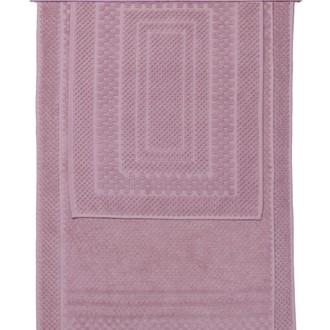 Набор ковриков для ванной 3 пр. Hobby Home Collection CHEQUERS хлопковая махра пудра