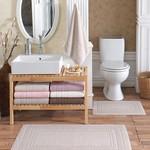 Набор ковриков для ванной 2 пр. Hobby Home Collection CHEQUERS хлопковая махра коричневый, фото, фотография