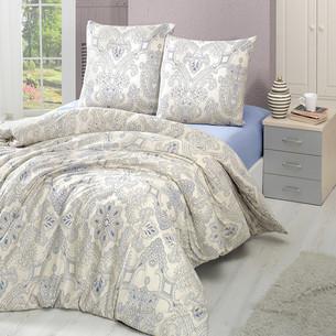 Постельное белье Karna VIKTORI хлопковый трикотаж 1,5 спальный