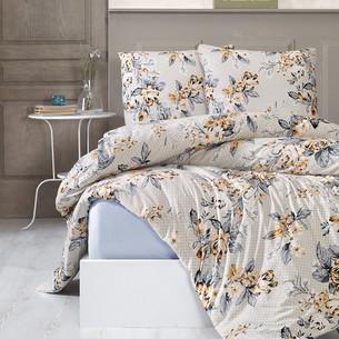 Постельное белье Karna ROSENS хлопковый трикотаж 1,5 спальный