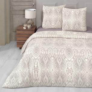 Постельное белье Karna FLOWEN хлопковый трикотаж 1,5 спальный